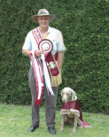 Click to Enlarge - Highest Score in Trial Winner - Open Class 1st Place - Worenslane Ambrose CDX (Murphy)